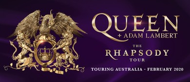 Queen + Adam Lambert – The Rhapsody Tour