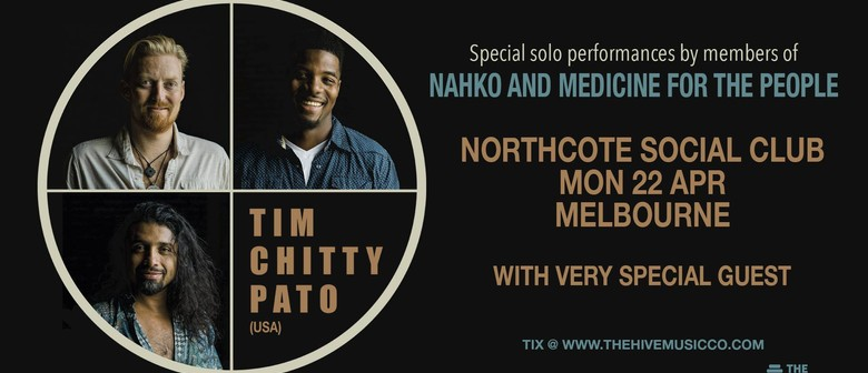 Tim, Chitty & Pato of Nahko and Medicine for The People