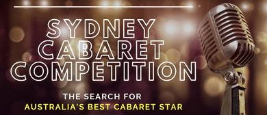 Sydney Cabaret Competition – Heats