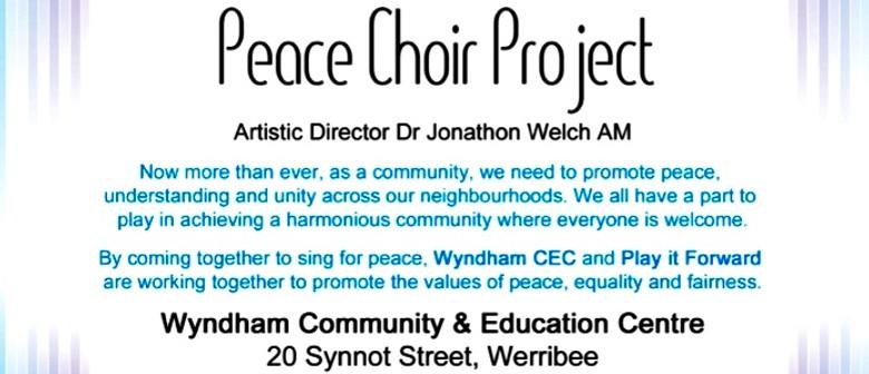 Peace Choir Project Artistic Director Dr Jonathon Welch AM