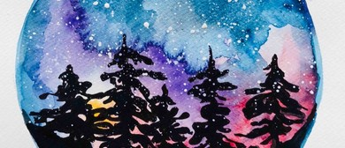 Galaxy Watercolour – BYO Painting Class