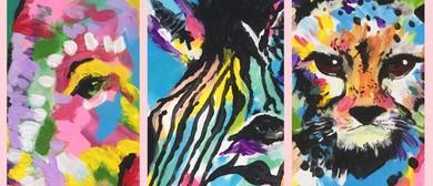 Safari Trio – Painting Class and BYO Studio