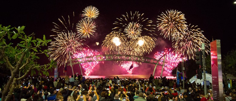Seafire Spectacular Fireworks Competition