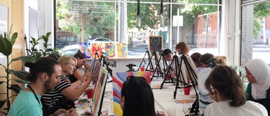 Saturday Social Painting – Paint and Sip for Beginners