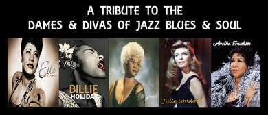 High Tea With the Dames & Divas – Jazz Blues & Soul