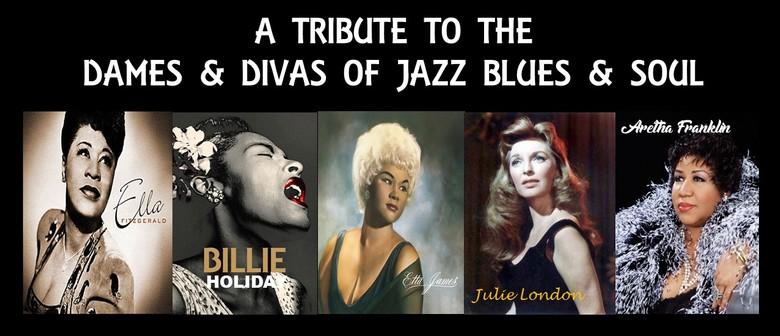 High Tea With the Dames & Divas – Jazz Blues & Soul