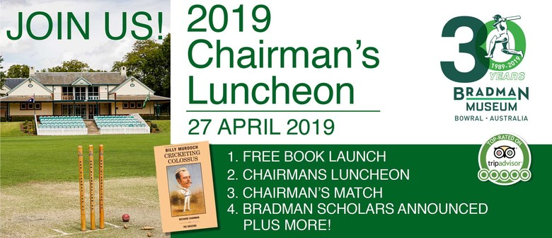 Bradman Chairman's Luncheon 2019