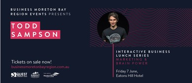 Business Moreton Bay Region – Todd Sampson