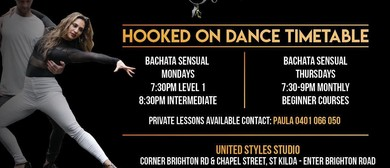Bachata 4 Week Beginner Course - 2 for 1 offer