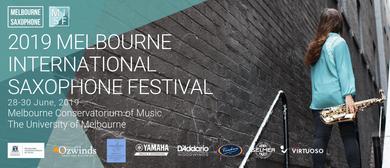 Melbourne International Saxophone Festival