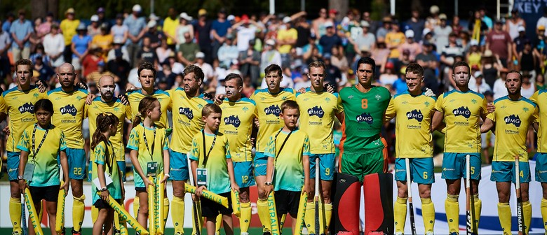 Kookaburras v India – 2nd Hockey Test Match