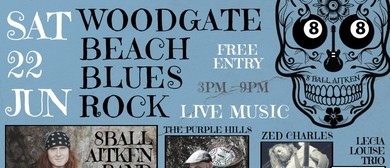 Woodgate Beach Blues Rock