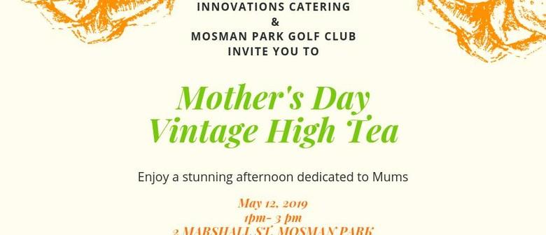 Mother's Day Vintage High Tea