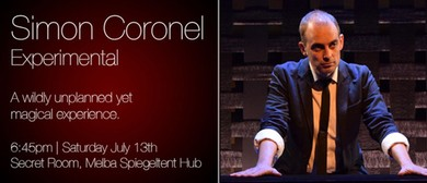 Secret Showcase: Simon Coronel Experimental