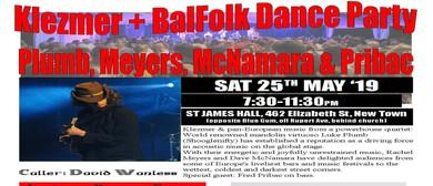 Klezmer + BalFolk Dance Party – Plumb, Meyers, McNamara & Pr