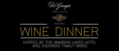 DiGiorgio Wine Dinner