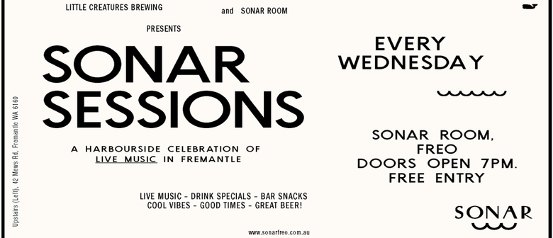 Sonar Sessions: The Pimp Whiskers and More
