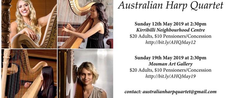 Australian Harp Quartet In Recital