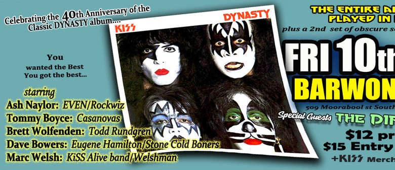 Kiss Dynasty – 40th Anniversary Concerts