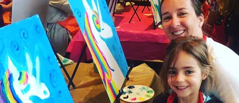 Family Art Time – Dine in Family Painting Class
