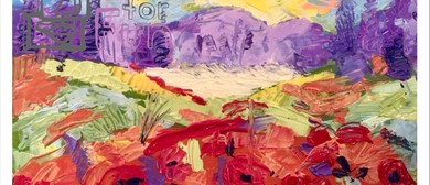 Poppies In Paradise – Dine, Paint and Sip