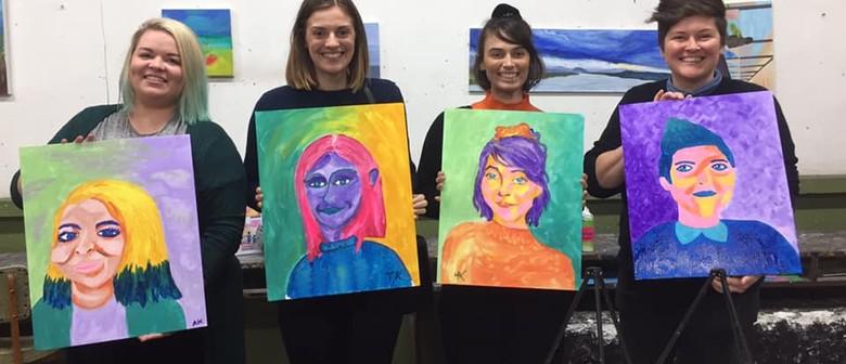 Paint Your Partner – A Social Painting Class