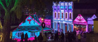 Sovereign Hill's Winter Wonderlights