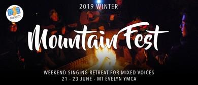 2019 Winter Mountain Fest