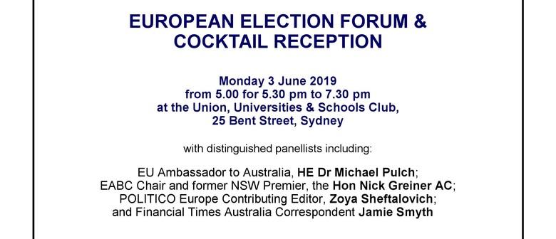 European Elections Forum & Cocktail Event