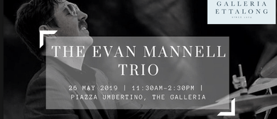 Jazz At the Galleria: The Evan Mannell Trio
