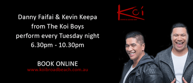 Tuesday Nights With Danny Faifai & Kevin Keepa