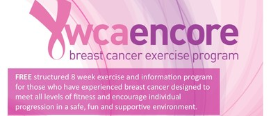 YWCA Encore – Breast Cancer Exercise Program: CANCELLED