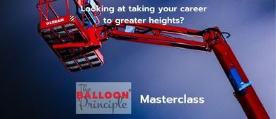Balloon Principle Speaker Masterclass
