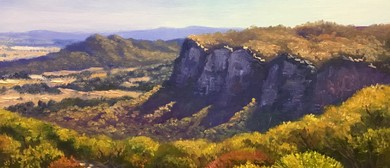 Oil Painting Class - Painting the Blue Mountains