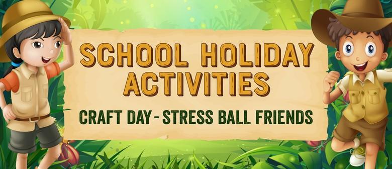 Craft Day – Stress Ball Friends
