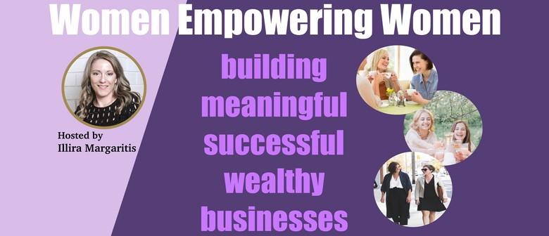 Female Entrepreneurs Connecting Networking Drinks