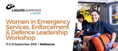 Women In Emergency Services Leaderships Workshop