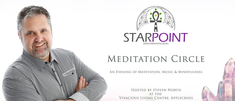 Meditation Circle With Star Point 9