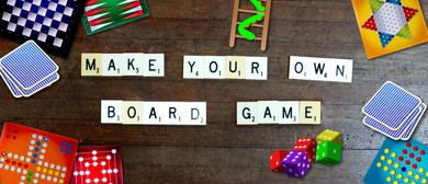 Make Your Own Board Game Children's Eco Art Workshop