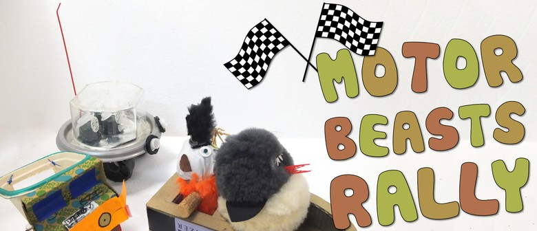 Motor Beasts Rally Children's Eco Art Workshop