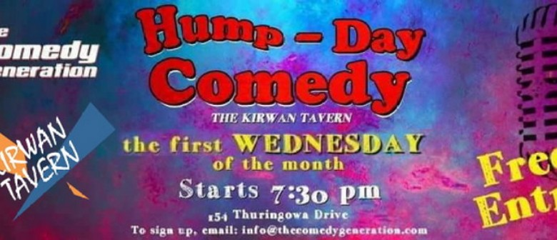 Hump-Day Comedy Open Mic