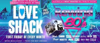 Love Shack 80's Night With Rewind 80s