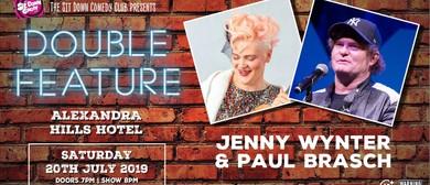 Comedy Double Feature - Jenny Wynter & Paul Brasch