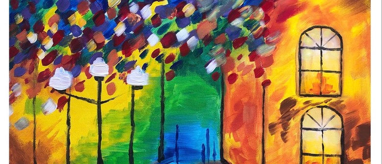 Street Lights – Sip, Lunch, and Paint