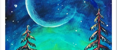 Harvest Moon – Dine In Painting Class