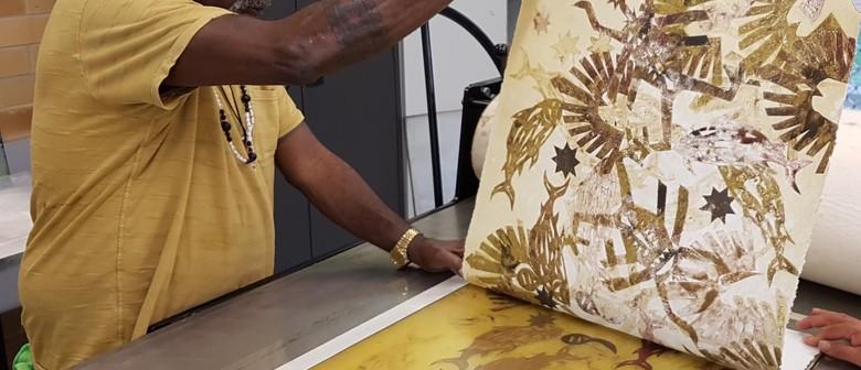 Calling Indigenous Artists – Weekly Print Workshop
