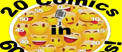 20 Comics in 60 Mins Comedy Slam 2 for 1 Seats