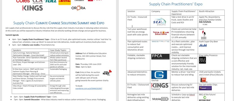 Industry Climate Change Solutions Summit