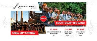 Steel City Strings meets South Coast Big Band