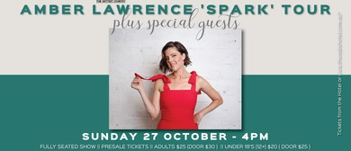 Amber Lawrence – Spark Tour